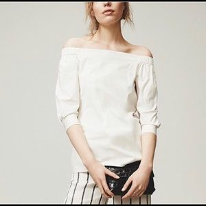 BLACK Theory off shoulder top